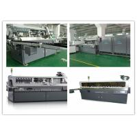 Fully Automatic Plastic Bottle Silk Screen Printing Machinery Single Color