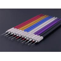 Quality Multiple Colour Semi Permanent Eyebrow Tattoo Pen Round Lock Needle for sale