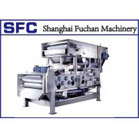 Quality Sludge Dewatering Belt Press Machine For Industrial Wastewater Treatment for sale