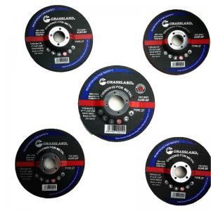 Quality 115mm X 6.4mm X 22.23mm Resin Bonded Grit 24 Abrasive Grinder Discs For Metal Fab for sale