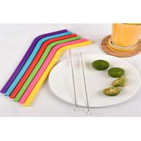 Buy Non - Toxic Reusable Food Grade Silicone Straw Bar Accessories 100% Bpa Free at wholesale prices