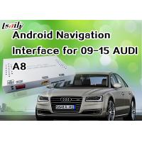 Quality Android 6.0 GPS AUDI A8 Android Auto Interface , Android Navigation Box 360 Bird View Cameras for sale