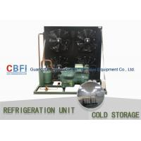 Quality R134a Refrigerant Air & Water Cooling Unit / Cold Storage Room Energy Saving for sale