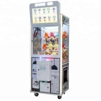 China 150W Crane Toy Gift Game Machine With LCD Screen For Advertisement on sale