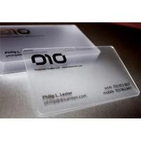 Quality transparent business card sheets for sale