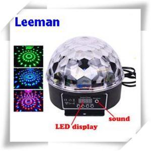 Quality Digital Rgb LED Magic Ball Light 6W / Professional Stage Lighting Equipment 4500lm for sale