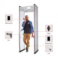 Quality Multi Zones Security Body Scanner , High Sensitivity Walk Through Metal Detector UB700 for sale