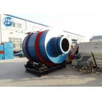 China Small Sand Rotary Dryer Customized Color Job Site Industrial Drying Equipment on sale