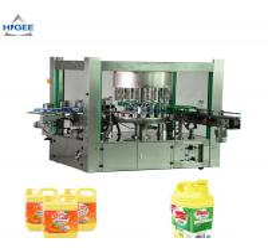 Quality Hot Melt Glue Flat Bottle Labeling Machine For Dish Washing Liquid Bottle for sale