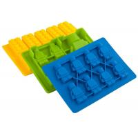 Quality Mini Colorful Ice Cube Trays Silicone for Making Chocolates / Candy / Jelly / Ice Cube for sale