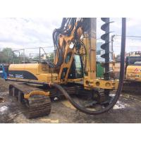 Quality Small CFA Rotary Piling Rig With 34.3 Mpa Max Operating Pressure 200 Kn.M Torque KR200m for sale