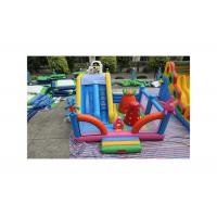 China Patrick Star Theme Inflatable Fun City For Children Customized Color on sale