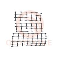 Quality Black Stabilization PP Biaxial Geogrid For Slope Control 25.4 * 25.4mm Mesh Size for sale