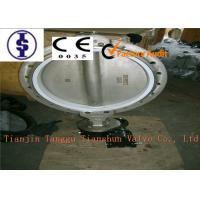 Quality Lever Or Worm Gear Industrial Butterfly Valves PN10 / PN16 With Water Type for sale