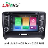 Quality 7 INCH Audi A4 Dvd Player , BT WIFI Dvd Player ST TDA7388 For Android for sale