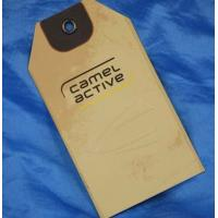 Quality printing canvas tag for garment for sale