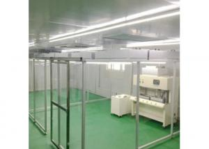 Quality Aluminum Profile Mobile FFU Soft Wall Cleanroom PVC Anti Static Curtain for sale