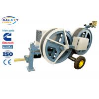 Quality 5T Transmission Line Equipment Hydraulic Tensioner Machine With 1300/1500mm Bull Wheel for sale