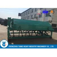 Quality Waste Processing Compost Turner Food 5 - 8 Tons Per Hour Capacity Carbon Steel Made for sale