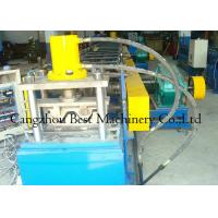 Buy cheap Chain Driven 2 Waves W Beam Highway Guardrail Roll Forming Machine 8-12m/Min from wholesalers