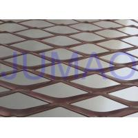 Quality Perforated Strong Architectural Expanded Metal Flattened With Diamond Holes for sale