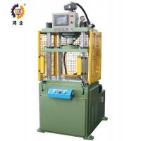 Quality High Safety Green Four Column Hydraulic Press Machine For Hardware Fittings 15T for sale