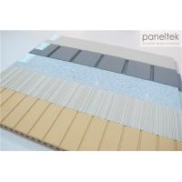 Quality High Strength Terracotta Panels Ceramic , Lined / Grooved / Flat Exterior Wall Cladding for sale