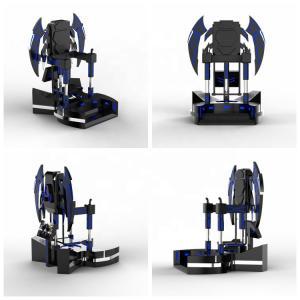 Quality Cool Black Design VR Standing Platform English Or More Operation Language for sale