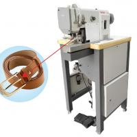Buy cheap Professional Leather Belt Making Machine Belt Buckle Computer Sewing Machine from wholesalers