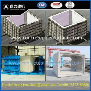 Quality precast concrete drainage culvert mold for sale