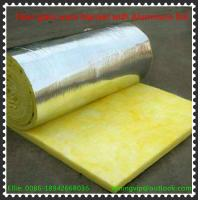 Buy cheap Glass wool blanket with reinforce Alum.foil with Yellow PE thermal shrinkage from wholesalers