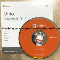 Quality Original Computer Software System Office 2016 Standard For 1 PC Lifetime Warranty for sale