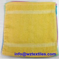 China Small Yellow Towels Hand Cleaning on sale