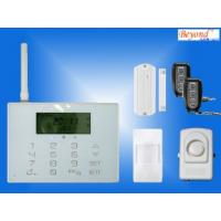 Quality LCD touchscreen PSTN GSM alarm system with wireless doorbell CX-GSM5 for sale