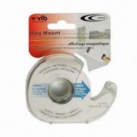 Quality Flexible Magnetic Dispenser with Adhesive Backing, Easy to Cut with Scissor for sale