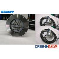 Best High Power 24w / 72w LED Pond Lights With 316 Stainless Steel Casing wholesale