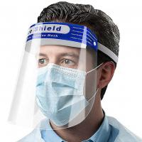 Quality High Transmittance PET Protective Face Shield , Transparent Full Cover Shield for sale