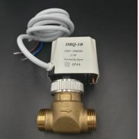 Quality 3/4 Diameter Compact Fan Coil Unit Valve Two Way Two Connections IP44 Standard for sale