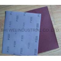 Quality Aluminum Oxide Emery Cloth Sheet for sale