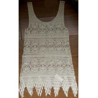 Best Free sample soft high quality ladies summer crochet vest (No.HF-2635#) wholesale