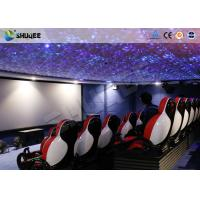 Quality 30 People Motion Chairs XD Theatre With Cinema Simulator System / Special Effect for sale