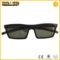 Best lower price polarized cinema projector 3d glasses linear/circular wholesale