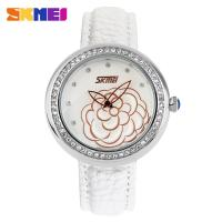 Best Black Business Lady Digital Watch Genuine Leather Strap wholesale