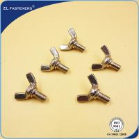 Stainless Steel Hex Bolt DIN304 Brass Wing Nuts And Bolts DIN Standards