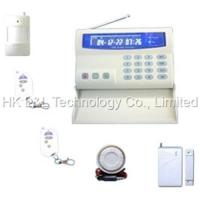 Quality Sell wireless GSM alarm system with LCD display for sale