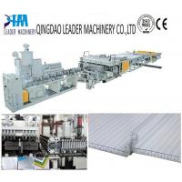 Quality UV protected PC twin wall/honeycomb sheet extrusion line for sale