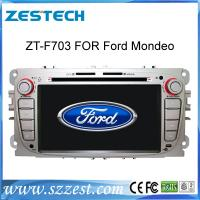 Quality ZESTECH 2 din indash touch screen car dvd player for ford focus gps navigation for sale