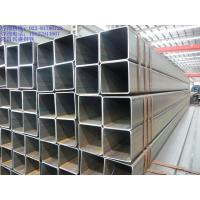 Non Alloy Welded Galvanised Steel Square Tube Hollow Section Black