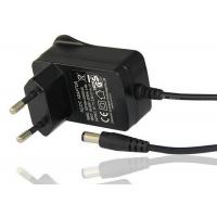 Quality EU 2 Pin Plug In Power Adapter With DC Plug 9V 1A Output Light Weight for sale