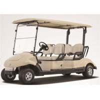 Electric 4 Person Golf Cart , 4 Seater Golf Buggy Club Car With Brake System